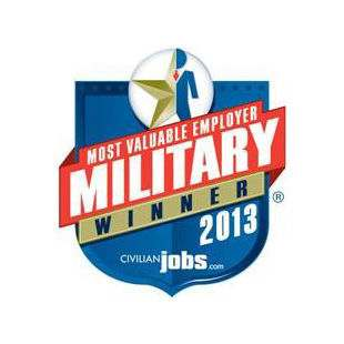 Most Valuable Employer Military Winner 2013